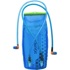 SOURCE Divide Widepac Réservoir d'hydratation 3 litres, transparent-blue